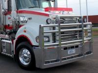 Mack Superliner custom alloy FUPS bull bar