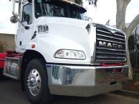 Mack Granite FUPS contoured Texas Style bumper bar