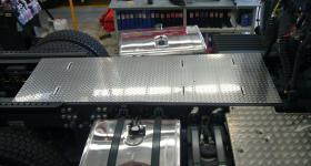Aluminium Chassis Walk Plate