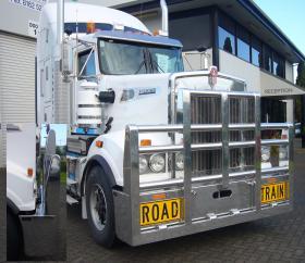 KW T909 Hi-tensile Road Train aluminium FUPS bull-bar