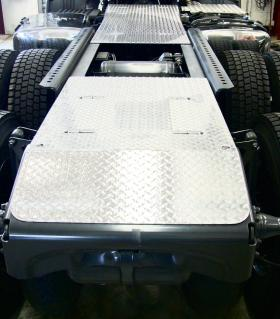 Scania Chassis Walk Plates
