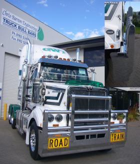 Western Star Aluminium FUPS Roadtrain Bull Bar