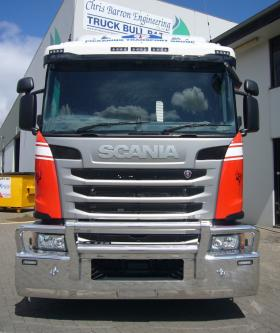 Scania G440 low profile FUPS AEB bullbar