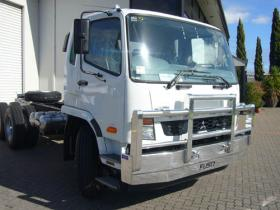 Fuso Fighter Hi-tensile aluminium bull bar