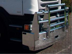 SCANIA R480 FUPS high tensile polished alloy bull bar             #13