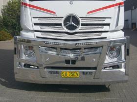 Mercedes ActrosWild Bar Design Fups Bullbar, No Radar.