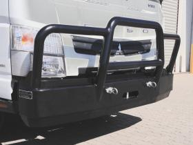 Fuso 918 powder coated hi-tensile alloy bullbar