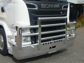 Scania R620 Fups high tensile polished aluminium bullbar             #15
