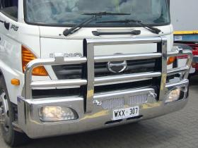 Hino  FG and FH Polished Custom Aluminium Bullbar