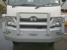 Hino 300 4x4  Powder Coated Alloy Bullbar        #6
