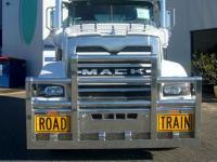 Mack Trident Road Train Fups bull bar    #17