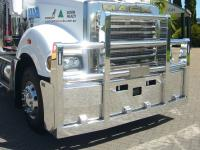 Mack Superliner with Radar FUPS Road Train Custom Bullbar        #3