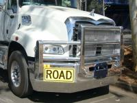 Mack Granite FUPS Road Train bullbar   #4