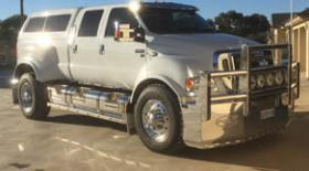 Ford F650 High tensile Aluminium Bullbar         #10