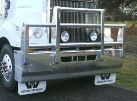 "Western Star ""Elephant Bar"" FUPS approved hi-tensile bullbar       #5"