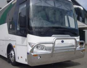 BCI Airporter Bus aluminium bull bar        #1