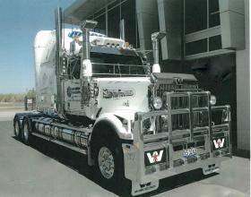 Western Star 6964 Road Train FUPS compliant Custom Bull Bar  #2