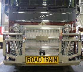 Volvo FH16 Hi-tensile Aluminium FUPS Roadtrain Bullbar    #11