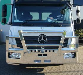 Mercedes Benz Atego FUPS compatable bull bar      #11