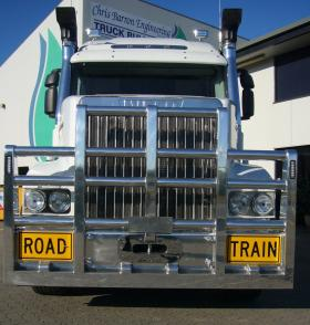 Iveco 7800 5 Post Fups Road Train Alloy Bullbar        #2
