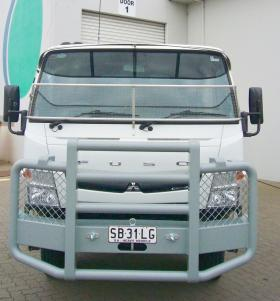 Fuso Canter 4x4 Powder Coated Alloy Bullbar             #14