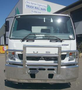Fuso Fighter 1627 Alloy Bullbar     #5