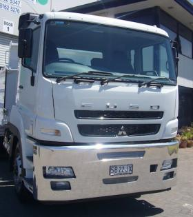 Fuso FV Custom Built Heavy Duty Fups Aluminium Bumper Bar     #1
