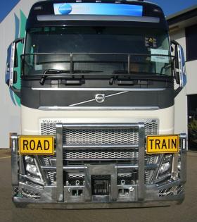 Volvo FH16 Hi-tensile Aluminium FUPS Roadtrain Bullbar    #3