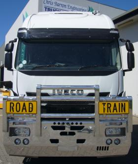 Iveco Stralis 560 Fups Road Train Bullbar         #3