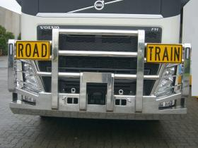 Volvo FH Fups compliant Road Train Hi-tensile alloy Bullbar   #8