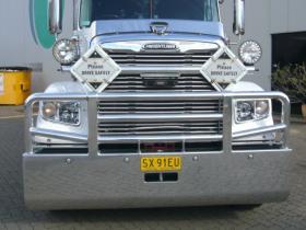 Freightliner Coronado High Tensile FUPS Bull Bar    #7