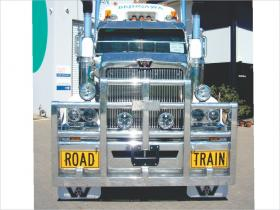 Western Star 4800/4900 FUPS compliant Custom Built Road Train bullbar    #1