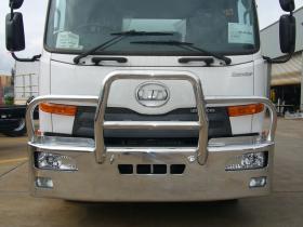 Nissan UD MK Condor hi-tensile aluminium bullbar      #6