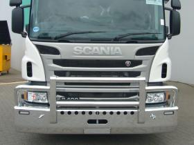 Scania-P400 FUPS high tensile bull bar        #15