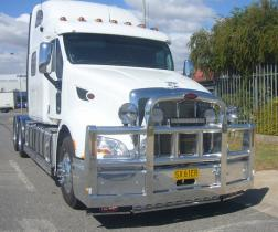 Peterbilt Custom Built FUPS Bullbar        #2