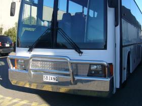 Mercedes Coach Hi-tensile Aluminium Bull Bar     #7