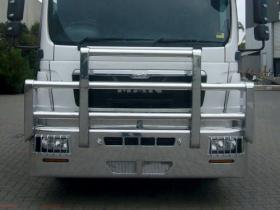 MAN TGL FUPS high tensile polished alloy bullbar        #4