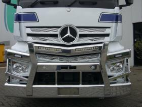 Mercedes Benz 2658 Actros Fups Compatible Alloy Bull Bar     #8